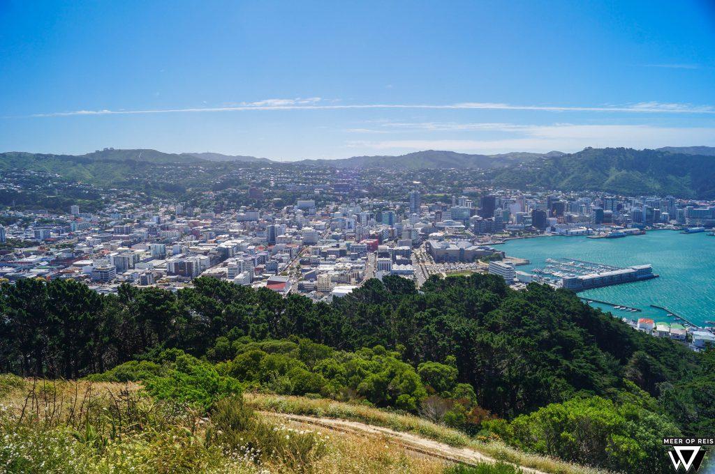 17. Wellington - Wellington vanaf de berg