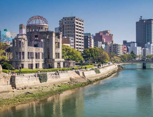 Japan| Hiroshima vandaag en toen