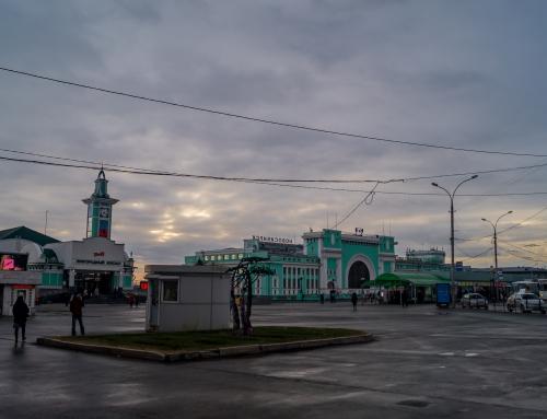 Rusland| Zonder planning door Novosibirsk